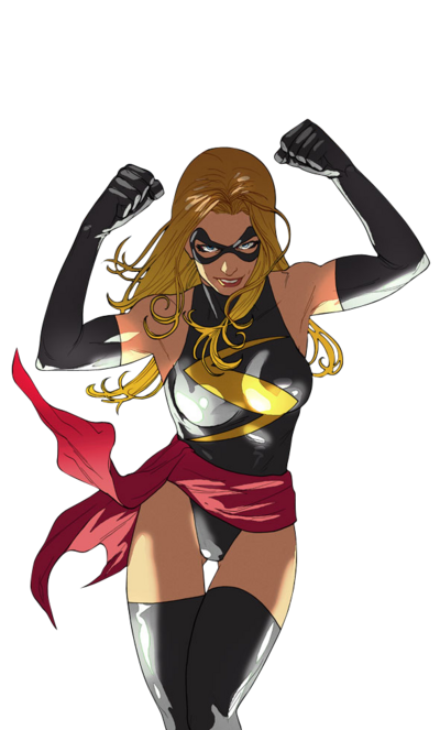 Render - Miss Marvel Baixe Renders