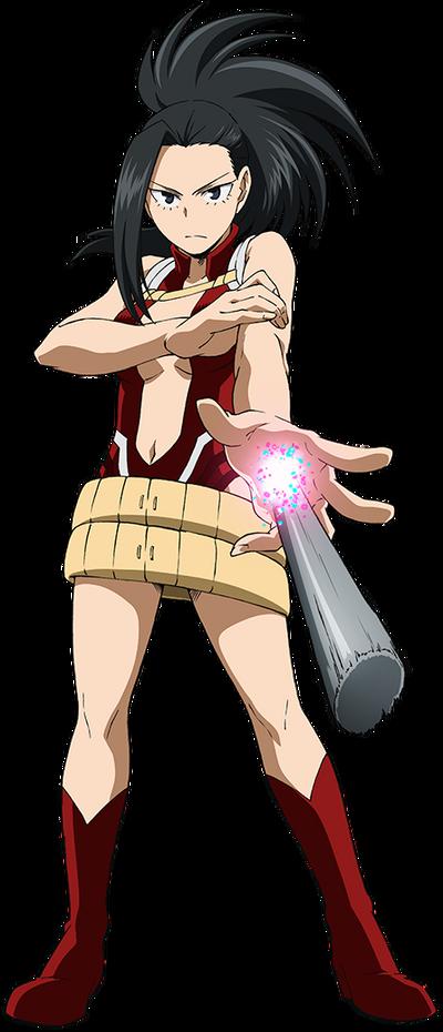 Momo Yaoyorozu Hero Costume Anime Action