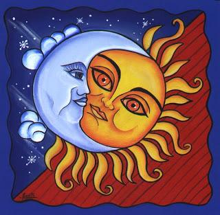 Pintura JC. Sol y Luna