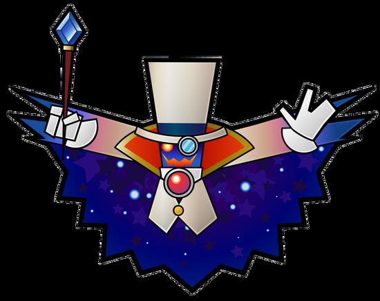 Count Bleck Artwork - Super Paper Mario