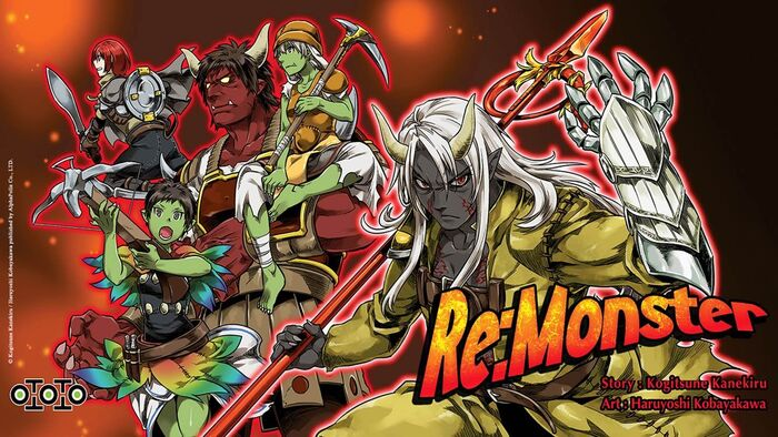 Re- Monster mangá