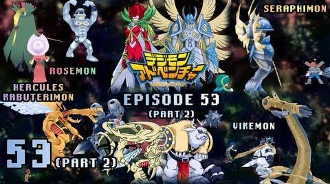 Digimon Adventure PSP - Walkthrough Episode 53 ~Pt 2~ Rosemon Seraphimon HerculesKabuterimon Vikemon