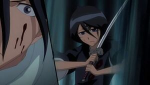 Rukia es controlada por Zommari