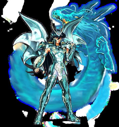 Shiryu de Dragão Armadura Divina render Liberproeliis1.0
