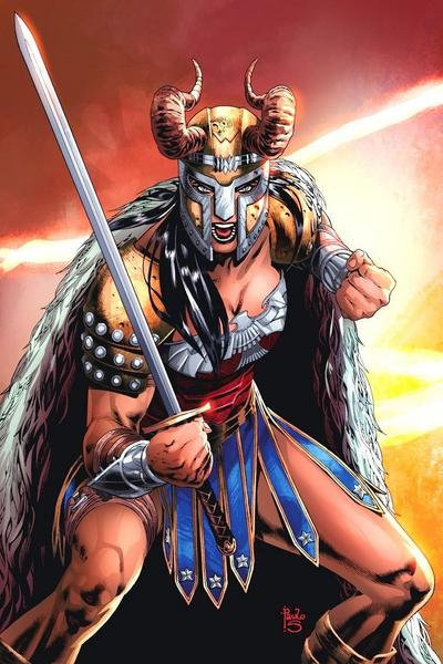 Wonder Woman God of War