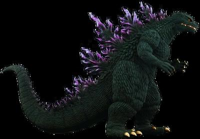 Millennium Godzilla render