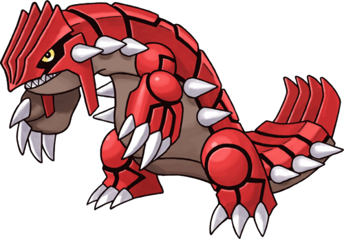 383Groudon Pokemon Mystery Dungeon Red and Blue Rescue Teams