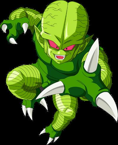 Render Dragon Ball Z saibaman