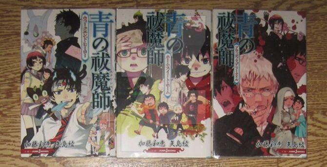 Light Novel (Ao no Exorcist)