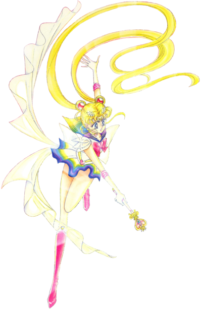 Usagi Tsukino Sailor Moon Super Crisis Form - Manga