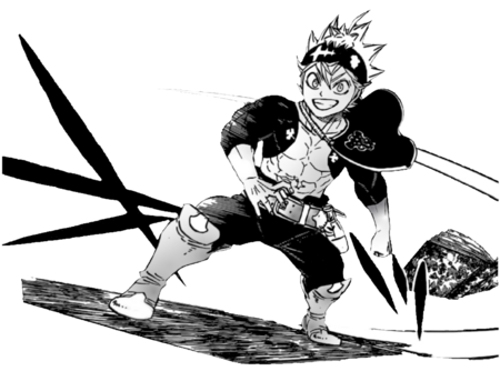 Black Clover Post-Timeskip Asta render by Epsilon R