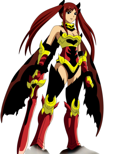 Erza scarlet flame empress arm fairy tail by ice do-d3efo61