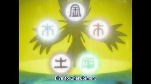 Lucemon used Cherubimon