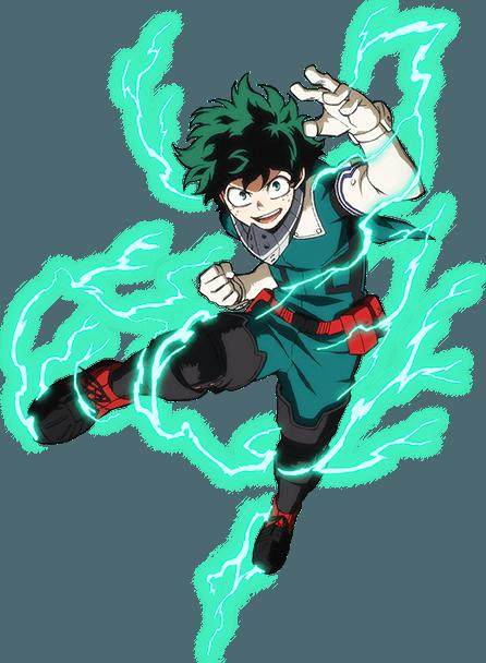 Izuku Midoriya Hero Costume Action Pose