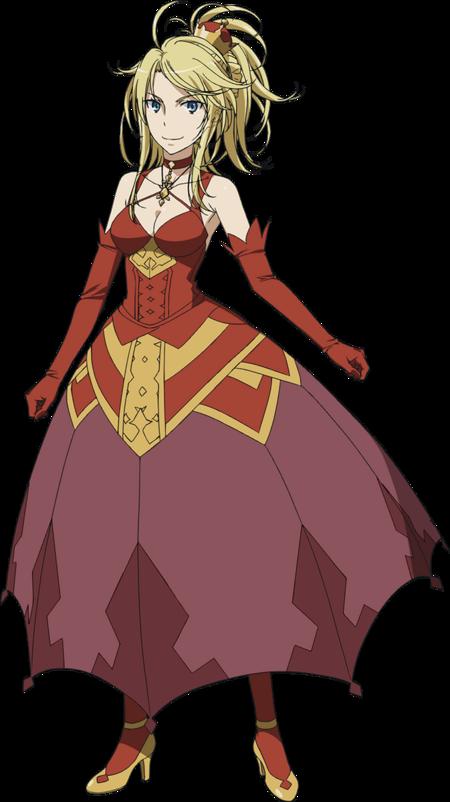 Carissa (Index III Anime Design)