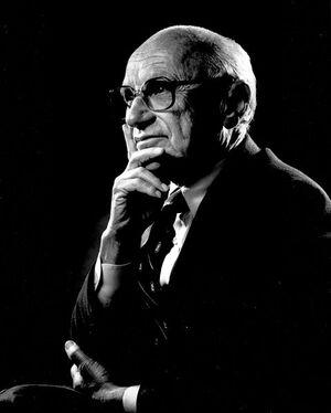 480px-Portrait of Milton Friedman