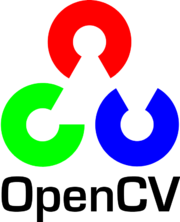 OpenCV Logo with text