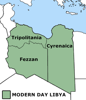 Ottoman Provinces Of Present day Libyapng