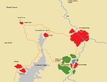 Karte New Johannesburg & Umland