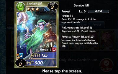Senior Elf
