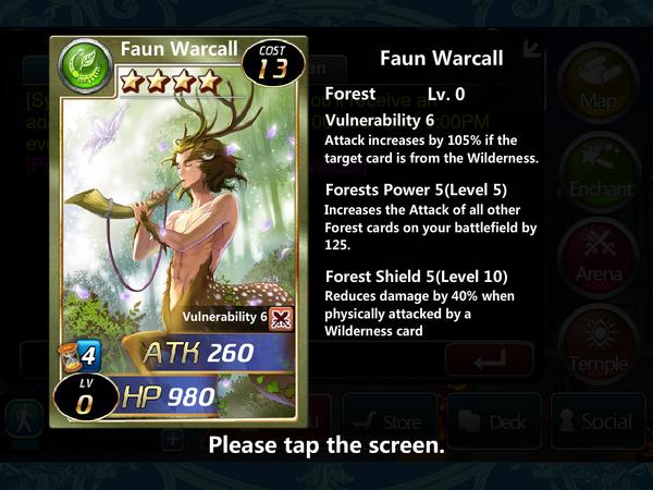 Faun Warcall 0