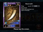 Beast Teeth