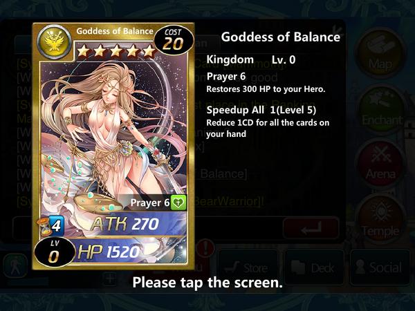 Goddess of Balance 0