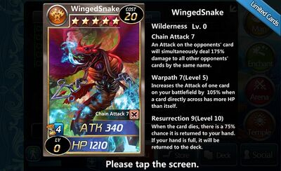 Winged Snake