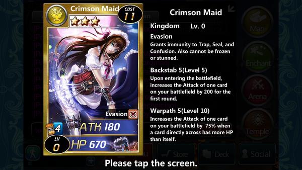 Crimson Maid 0