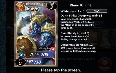 Rhino Knight