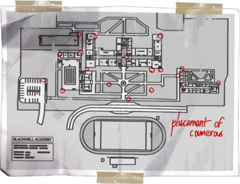 Blackwell Campus Map