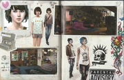 Pages 1 and 2 Art Book