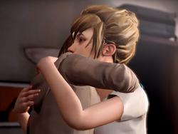 Kate hugging Max