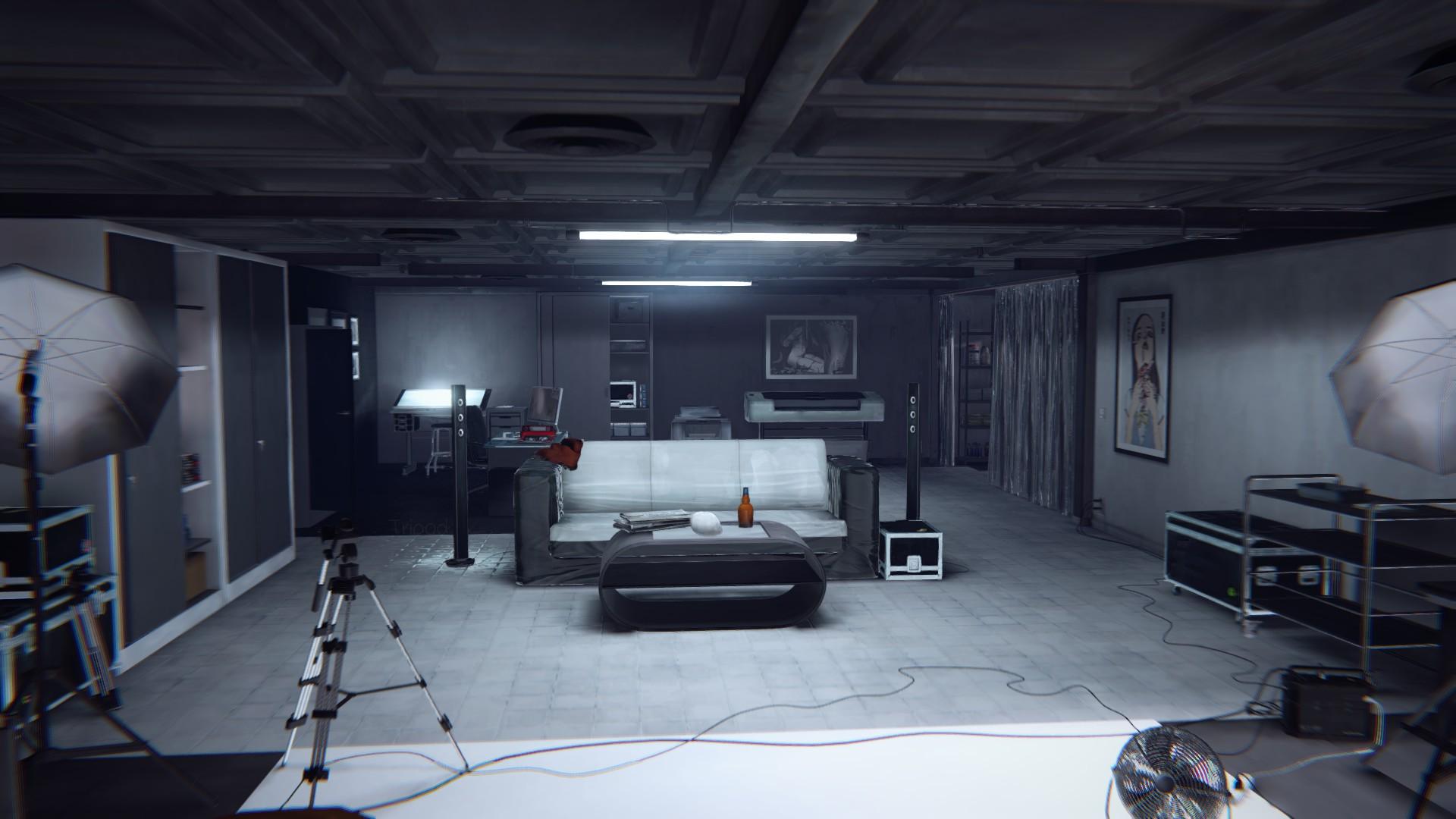 Dark Room Ingame
