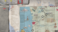Sean's Travelling Map (end of E1 - Roads)