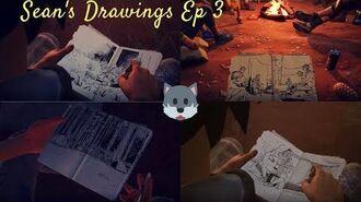 Sean's Drawings Life is Strange 2 Ep 3