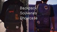 LIS2 Backpack Souvenirs Showcase (collectibles)