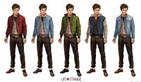 Life is Strange Concept Art Nathan Prescott by Fred Augis