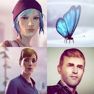 PSN Avatar Chloe Pack