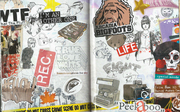 Pages 29 and 30 Art Book