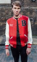 Blackwell varsity jacket male