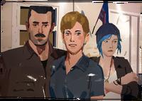 LiS2E5 Away - David Madsen Chloe Price and Joyce Price