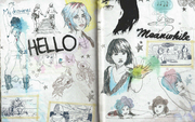 Pages 25 and 26 Art Book