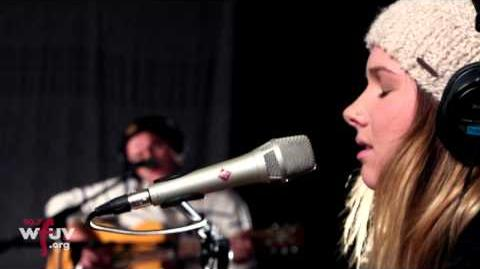 "Broods - ""Taking You There"" (Live at WFUV)"