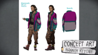 Official Character Profiles - Hannah Concept Art 03