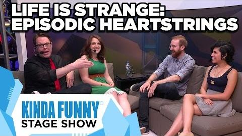 Ashly Burch, GameSpot, and Dev. Michael Koch talk Life is Strange - Kinda Funny Stage Show E3 2015