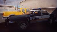 Arcadia Bay police car