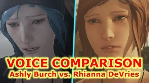 Chloe Price Voice comparison Life is Strange Before the Storm NEW VOICE