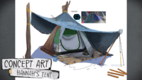 Official Character Profiles - Hannah's Tent Concept Art 01