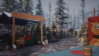 Christmas Market drawing